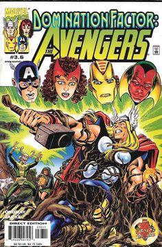 Domination Factor: Avengers # 3.6 Marvel Comics