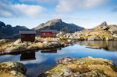 Hermannsdalstinden Hike, Sørvågen Lofoten Islands, Norway #lofoten #norway #hiking