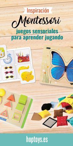 Inspiración Montessori  juegos sensoriales para aprender jugando - HOPTOYS b9ce0fbaa937