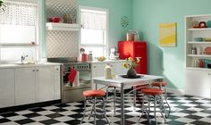 diner k che im kultigen 50er jahre stil lovely 50 39 s pinterest retro stil stil und retro. Black Bedroom Furniture Sets. Home Design Ideas