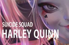 [현실안주형] harley quinn 할리퀸 그리기