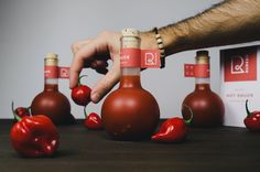 Designer: Stefan Andries  Project Type: Concept  Location: Bucharest, Romania  Packaging Contents: Hot sauce  Packaging Substrate / Materi...