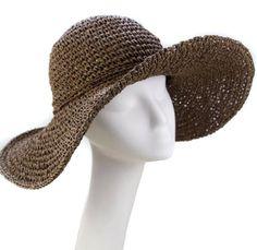 adf7d1bee26 Chic Ladies Straw Sun Visor Wide Large Brim Floppy Fold Swimming Beach  Straw Hat ieasysexy http