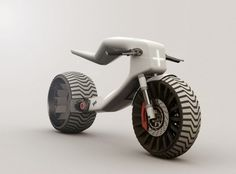 Futuristic Vehicle, E-MX Electric motorcycle