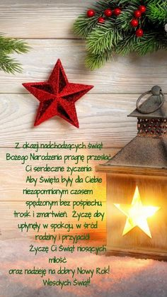 Kartka świąteczna 🎄🎅🌲💛🤶💛🎅🎄🌲💚🎄🌲 Merry Christmas Quotes, Christmas Time, Xmas, Christmas Decorations, Christmas Ornaments, Holiday Decor, Advent, Diy Projects To Try, Holidays And Events