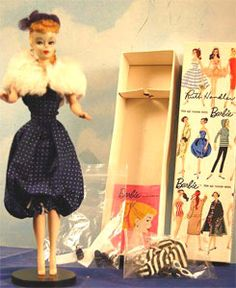 """This #2 Ponytail Vintage barbie was the highest priced item sold in the last month in the vintage Barbie category on eBay.      The doll did not include the Gay Parisienne she is wearing – but did include all original accessories and a box signed by Ruth Handler sold for a """"Buy It Now"""" of $5,450."""