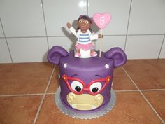 dort - doktorka Plyšáková / cake - Doc McStuffins