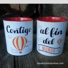 tazas molonas. entra en nuestra web www.lapuertafalsaonline.com y encontrarás un montón de ideas para regalar(te) en cada ocasión especial