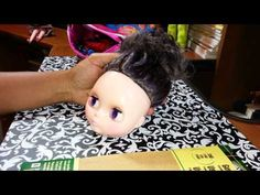 Blythe Doll Faceup (Part 1) - YouTube