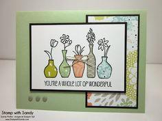 Vivid Vases Sneak Peek, SSSC199 - Stamp With Sandy
