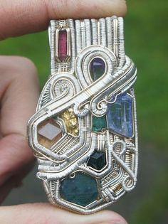 ©Nate Gosney #wirewrap #jewelry #wirewrapjewelry