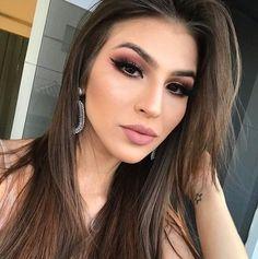 Gorgeous Makeup: Tips and Tricks With Eye Makeup and Eyeshadow – Makeup Design Ideas Sexy Makeup, Flawless Makeup, Makeup Looks, Beauty Makeup, Hair Beauty, Homecoming Makeup, Prom Makeup, Wedding Makeup, Hair Makeup
