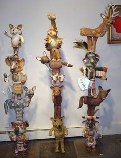 I love Holly's work...You can see a lot of her work at the Canyon Road Contemporary in Santa Fe, NM...I have a couple of her ravens! LOVE IT!
