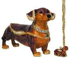 Dachshund ring gold | ... , Charms, Pins, Rings, Necklace, Jewelry Boxes and Dachshund Watches
