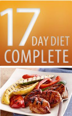 17 day diet complete - app for iphone - has recipes like this one - bbq chicken with roasted vegetables!