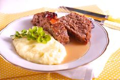 Sekaná pečeně What To Cook, Food Lists, Mashed Potatoes, Steak, Beef, Cooking, Ethnic Recipes, Kitchens, Whipped Potatoes