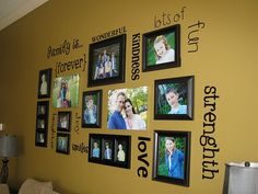 Family Pictures Wall