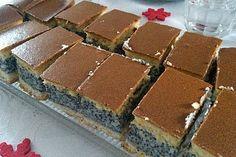 Thüringer Mohnkuchen mit Eierschecke