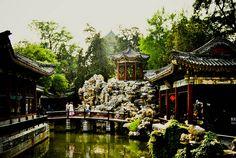 Beihai Park, Beijing, China by Choollus