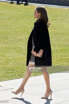 Queen Letizia of Spain attends the closing of the 'Women and Disability. We Crossed Borders' International Congress at the Lienzo Norte Exhibition and Congress Center on March 1, 2017 in Avila, Spain.