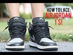 Jordan 1, Jordan Ones, Tie Shoelaces, Tie Shoes, Air Jordans, Sneakers Nike, Lace Up, Crafty, Cars