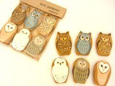 Owl Cookie // Petit Entrepot
