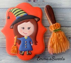 Witch Cookie // Emma's Sweets