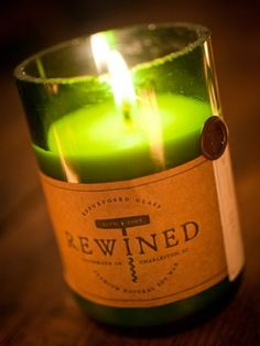 Wine Scented Candles Made in USA