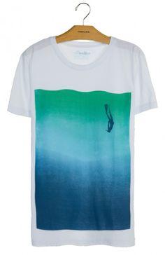 Osklen - T-SHIRT STONE VINTAGE OCEANS - t-shirts - men