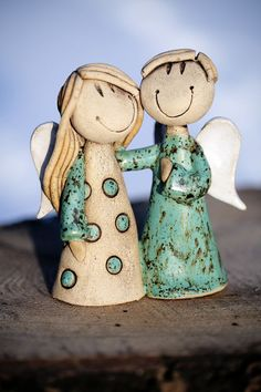 Barriere Barriere The post Barriere appeared first on Salzteig Rezepte. Polymer Clay Kunst, Fimo Clay, Clay Projects, Clay Crafts, Ceramic Pottery, Ceramic Art, Clay Angel, Pottery Angels, Ceramic Angels
