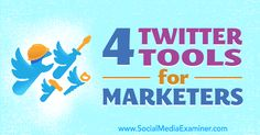 4 Twitter Tools for Marketers http://www.socialmediaexaminer.com/4-twitter-tools-for-marketers?utm_source=rss&utm_medium=Friendly Connect&utm_campaign=RSS @smexaminer