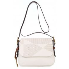 Harper Shoulder Bag softly grained cowhide cream