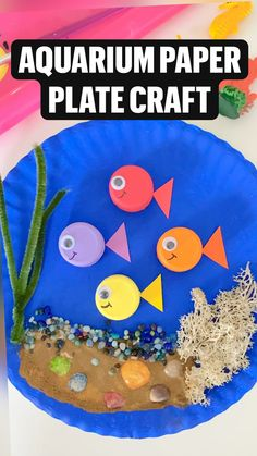 Preschool Art Projects, Preschool Arts And Crafts, Paper Plate Crafts For Kids, Toddler Art Projects, Kindergarten Crafts, Art Activities For Kids, Daycare Crafts, Classroom Crafts, Art For Preschoolers