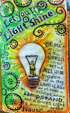 Happy Reminders: More StencilClub. Art Journal page using stencils from the StencilGirl StencilClub.