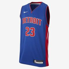10de9f0800a Nike Big Kids' NBA Jersey Andre Drummond Detroit Pistons Icon Edition  Swingman