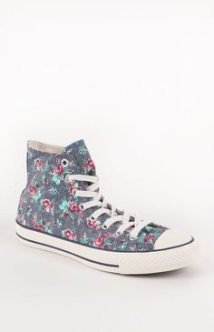 Converse All Star Floral High Top Sneakers