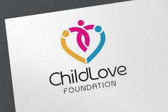 Child Love Logo by emotions76 on @creativemarket