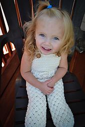 Ravelry: Diagonal Weave Baby Pants or Overalls pattern by Crochet by Jennifer