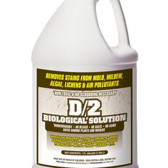 D2 Biological Solution, headstone cleaner! 1 Gallon