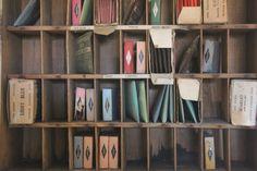 Change the Color  Vintage Dye Cabinet  Putnam Dyes  door becaruns, $225,00
