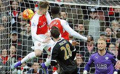 Arsenal vs Leicester City - key match stats