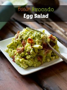 MM WHOLE 30 APPROVED  Avocado Egg Salad