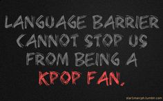 Because music is music! #kpop
