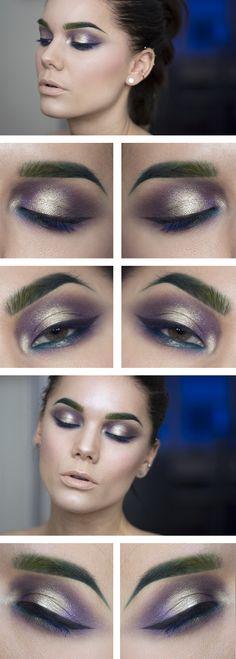 Le sourcil en couleur : très inspirant, graphique, peu quotidien.