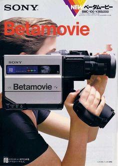 Sony BMC-100 Betamovie (1983)