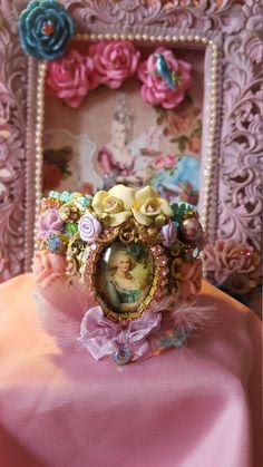 Marie Antoinette Pink Garden by QueenPretties on Etsy
