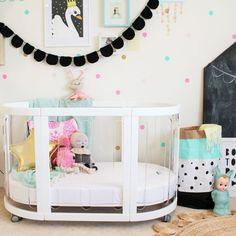 Interiors by www.fourcheekymonkeys.com - Kaylula Sova #Cot perfect #nursery piece for #baby