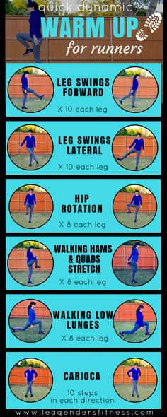 Welcome to the latest edition of Workout Wednesday! Today I am sharing a quick warm up to try before your runs. It's important to prep your body for the workout, so if you have just been just jogging, walking or worse, no warm up at all, then I suggest this dynamic warm up to prime your body f