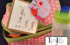 Surprise your son, daughter, husband or wife with some darling Lunch Box Notes! DIY