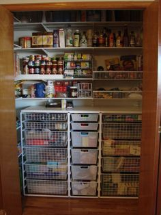 Pantry Organization with elfa!